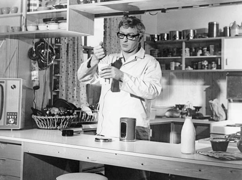 The Ipcress File kitchen
