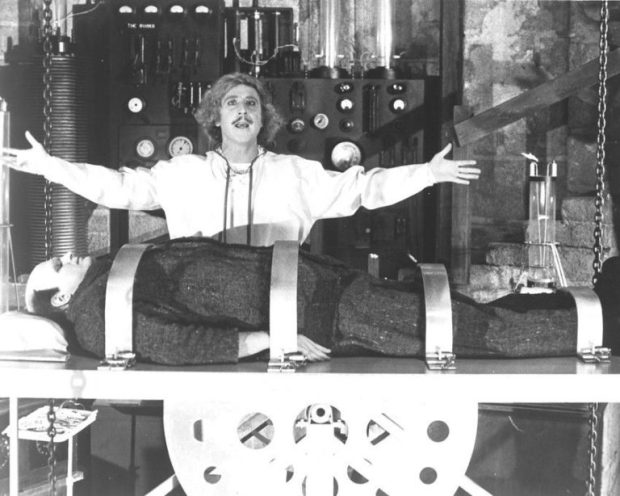 young frankenstein laboratory