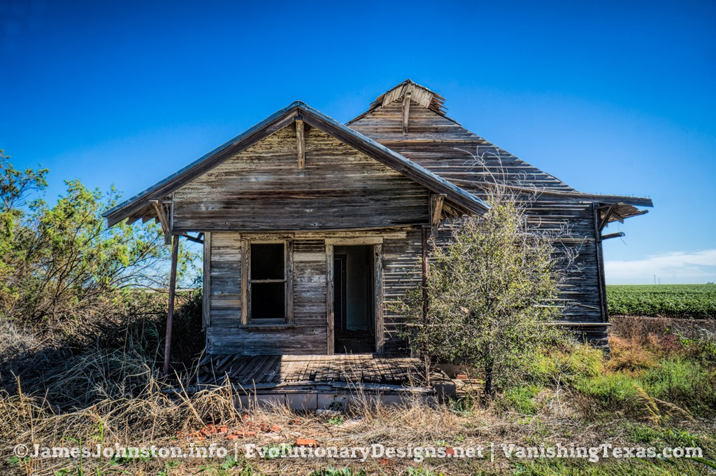 Abandoned Farm House South Of Stamford Texas