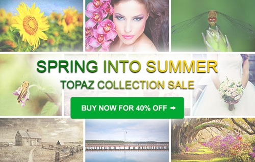 Limited Time 40% Discount Topaz Photography Bundle!