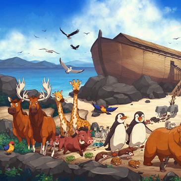 Bridal Wallpaper Hd James Ng Art Noah S Ark