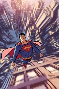 Superman will be written by anti-gay Orson Scott Card. Image by Bryan Hitch.