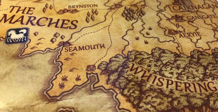 Artist Howard Coates on The Fey Man Maps