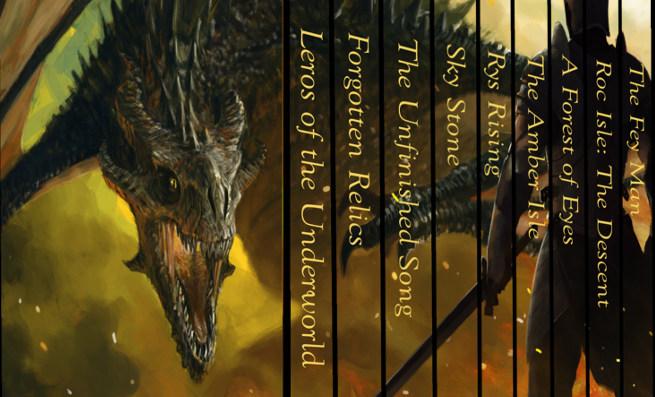 Outcast Journeys fantasy ebook box set