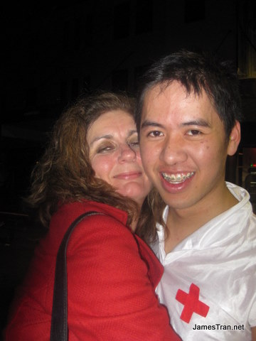 Me and a married cougar post-making out, outside Sugarmill bar - WHAT WAS I THINKING. Hope her husband doesn't read this blog. If he is, well, she told me she loves you.