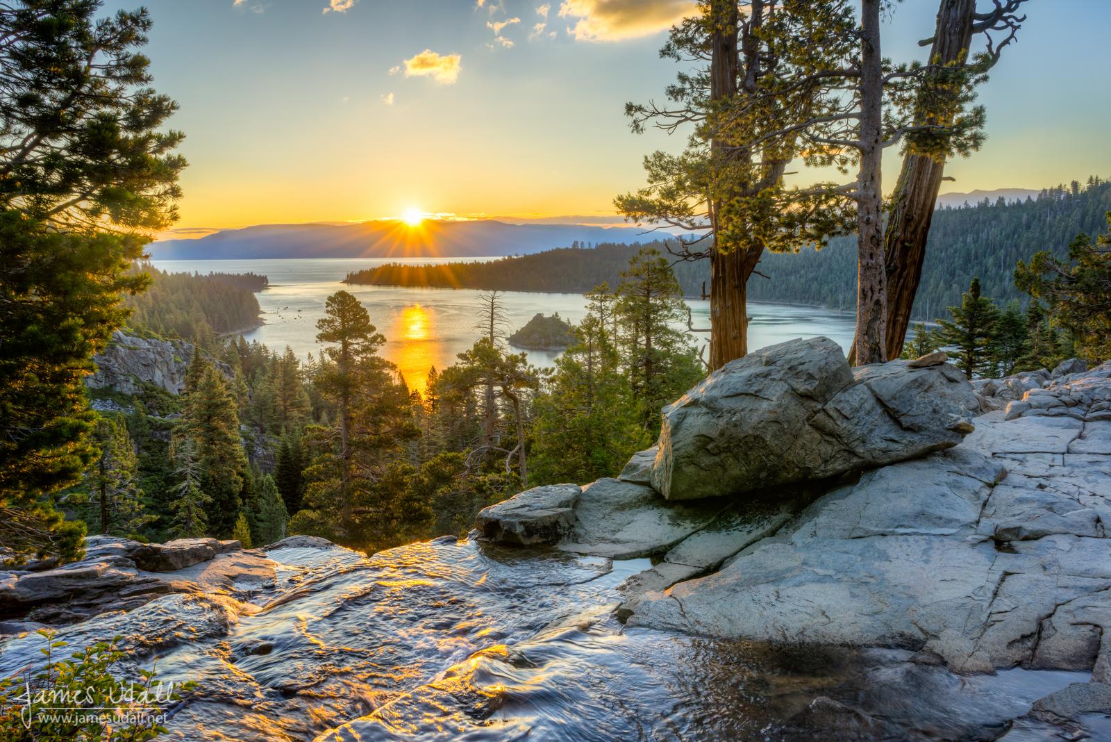 Fall Wallpaper Border California Nevada Lake Tahoe James Udall
