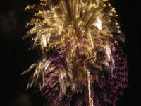 Pyroglyph 5626, enhanced photograph of fireworks display