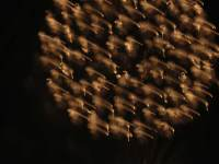 Pyroglyph 5629, enhanced photograph of fireworks display