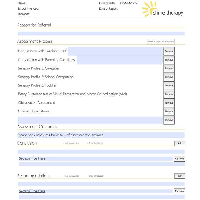 PDF Form Designer in the UK Custom PDF Business Form Design for - Assessment Form In Pdf