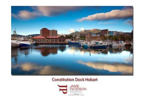Hobart Tasmania Constitution Dock Australian Landscape Photography Mount Wellington