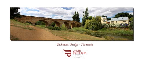 richmond bridge, tasmania, australian landscape photography, australian seascape photography