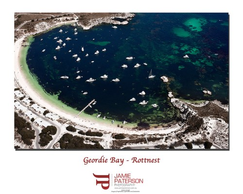 geordie bay, rottnest, rotto, australian landscape photography, aerial photography