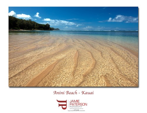 anini beach, kauai photography, hawaii photos, seascape photography,
