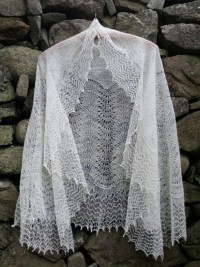 Shetland Lace in Natural Shetland Wool Shades. | Jamieson ...