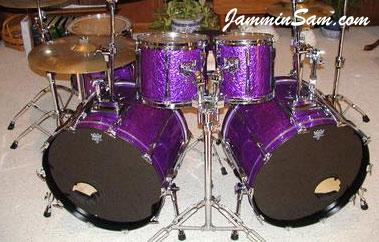 Drum Set Wallpaper Hd Purple Metal On Drums Discontinued Jammin Sam