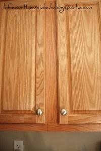 Cabinet door knob location  Door Knobs