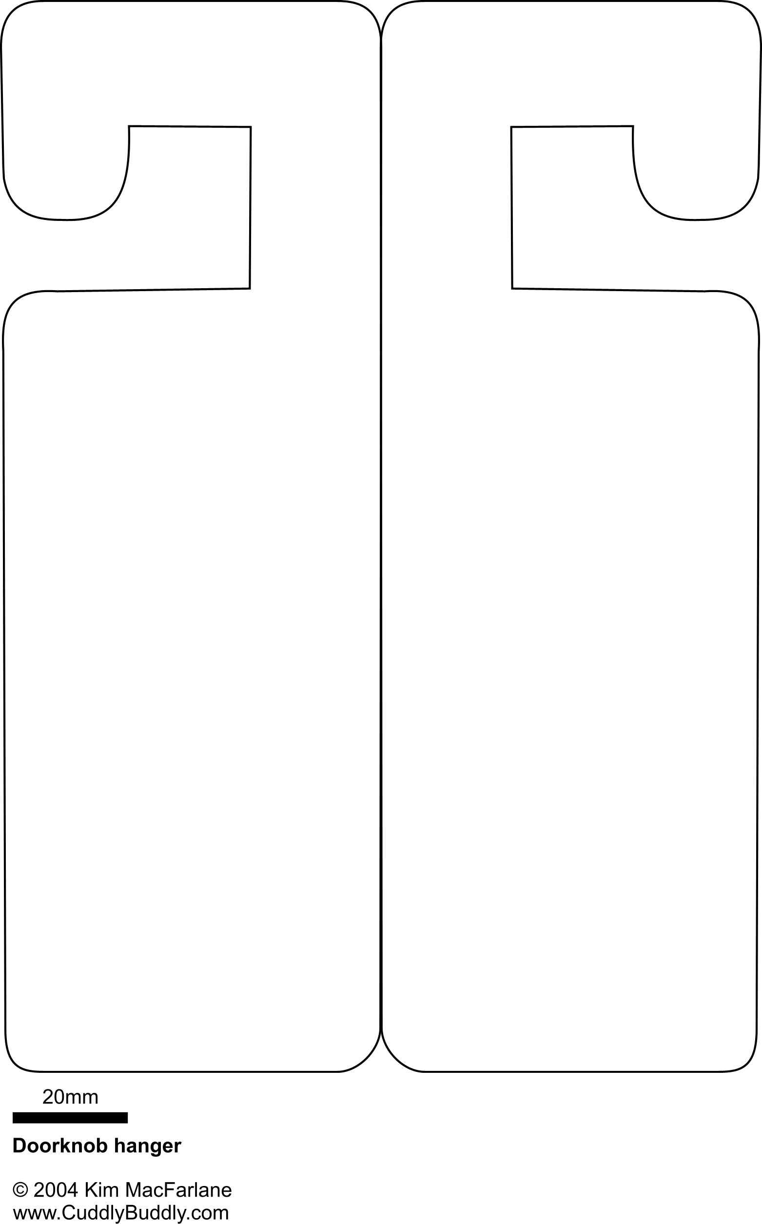 Door Sign Template - Costumepartyrun