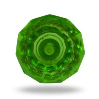 Green glass door knobs  Door Knobs