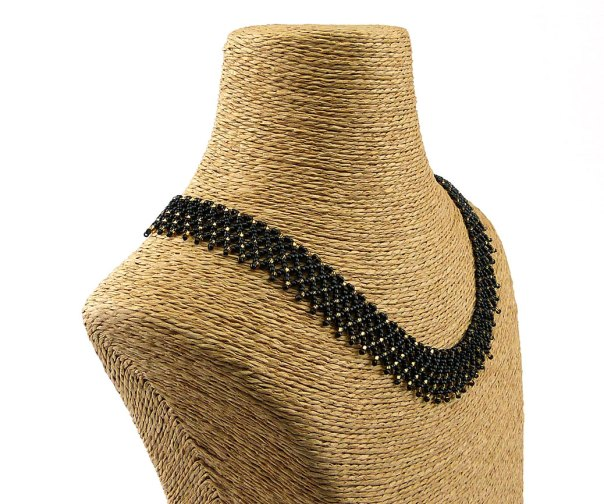 Isabella Black - Beaded Necklace
