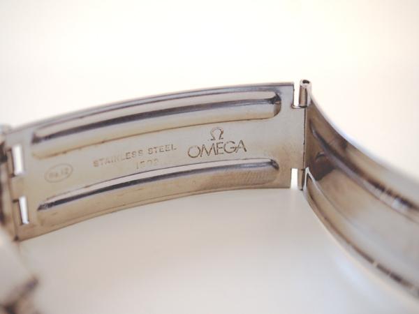オメガ シーマスター クロスラインダイヤル 7連ライスブレスレット Cal.565
