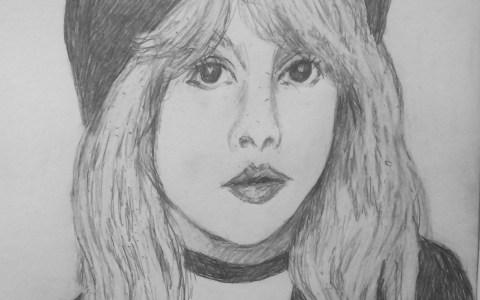 Stevie Nicks rock Star Portrait