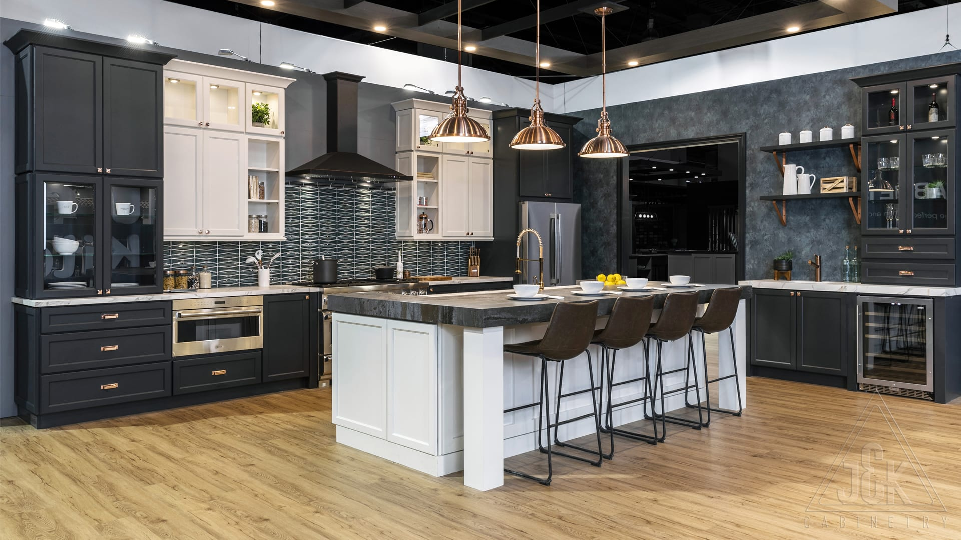 B&q Kitchen Design Jobs J K Cabinetry All Wood Cabinets