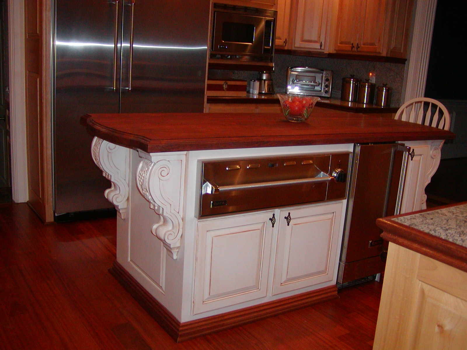 Countertop Warming Drawer Island 336 342 9268 J And S Home Builders And Cabinetry