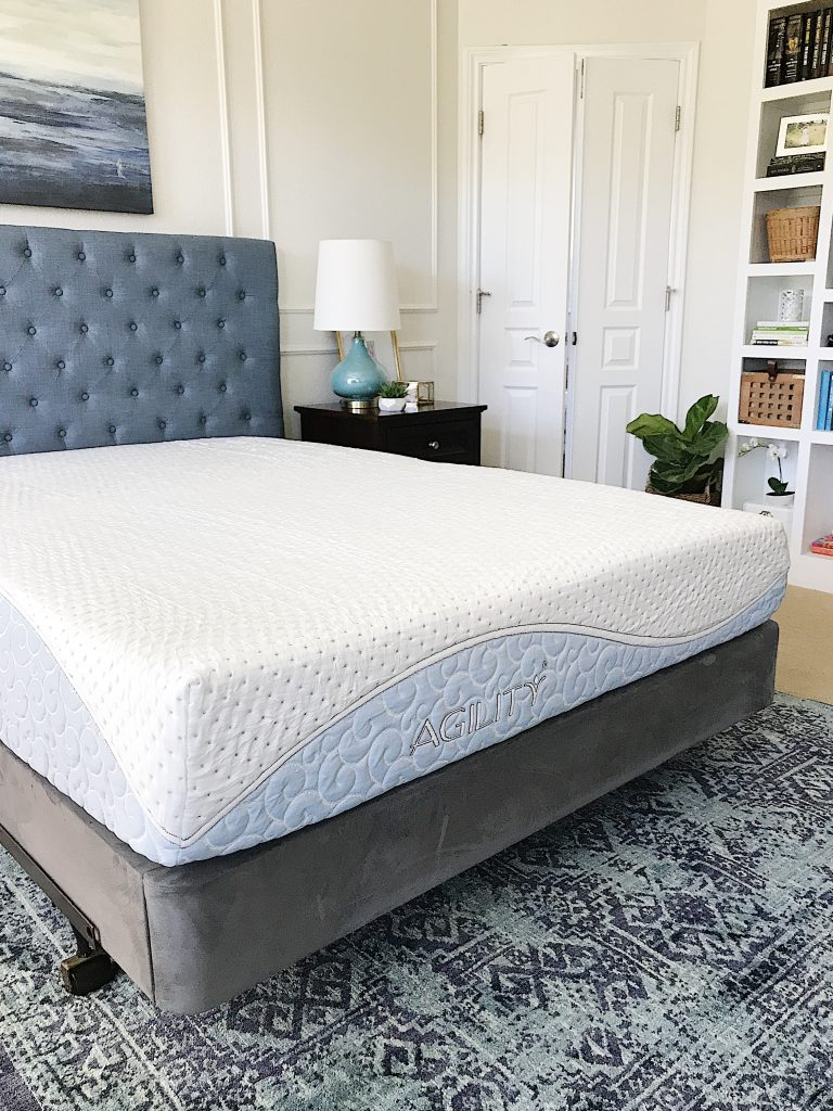 Bedroom Mattress Master Bedroom Updates A Review Of Our New Agility Mattress And