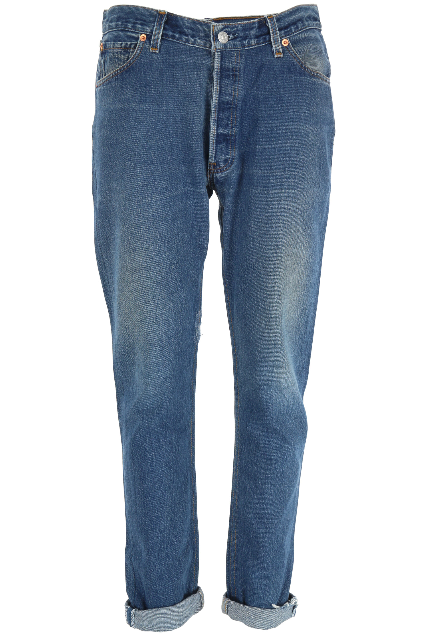 High Tech Toilette Jean Relaxed Straight Re / Done