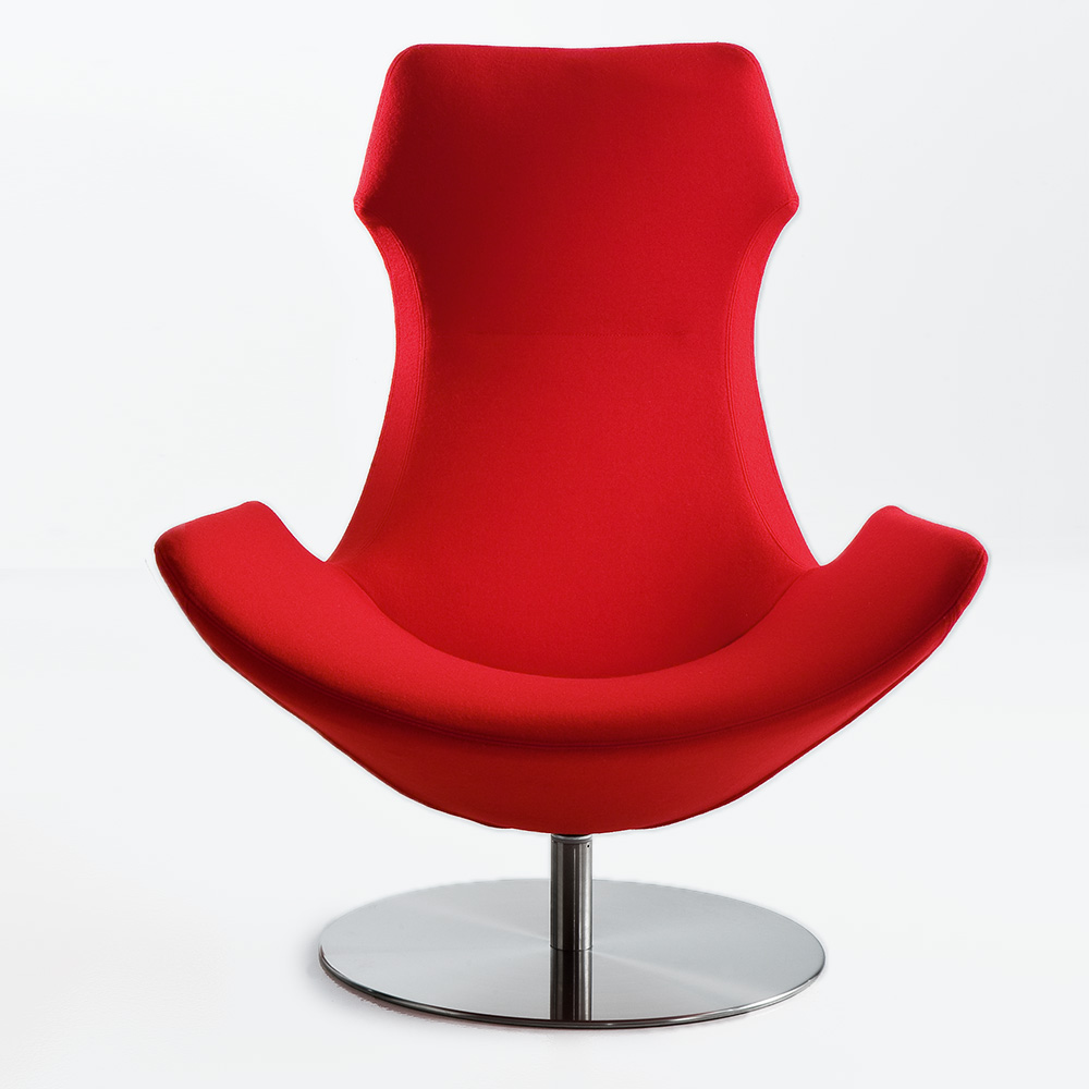 Lullaby 2 Lounge Armchair Disk Base Jane Hamley Wells