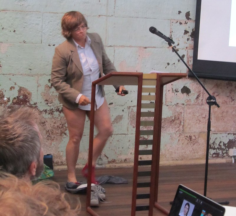 Failing to Perform: When performance art isn't, 2015
