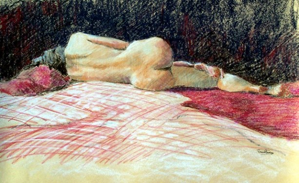 On the Red Blanket