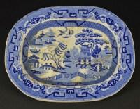BLUE WILLOW PATTERN CHINA - FREE PATTERNS