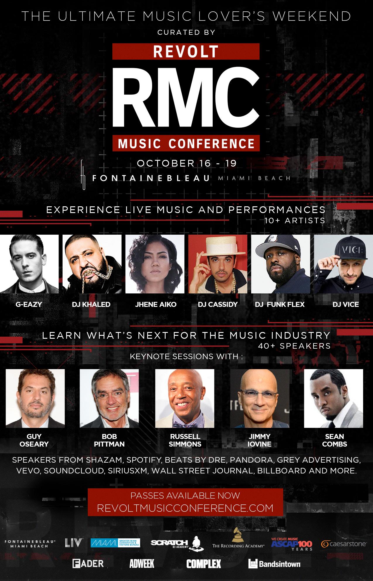 Revolt Music Conference