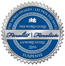 Finalist (suspense) sticker for The Word Awards