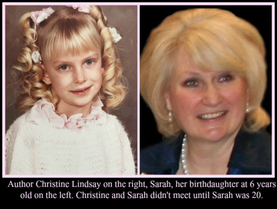 Christine Lindsay and her birth-daughter, Sarah