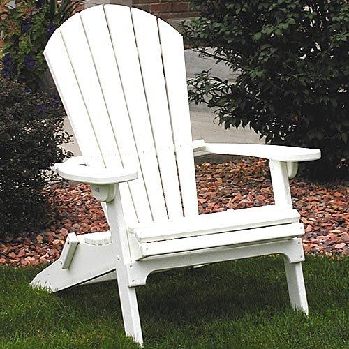 Hardwood Adirondack Chair White Wood Plan