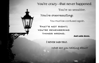 GASLIGHTING by a Narcissist: What it is and How to cope ...
