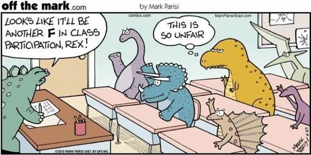 funny-t-rex-in-class