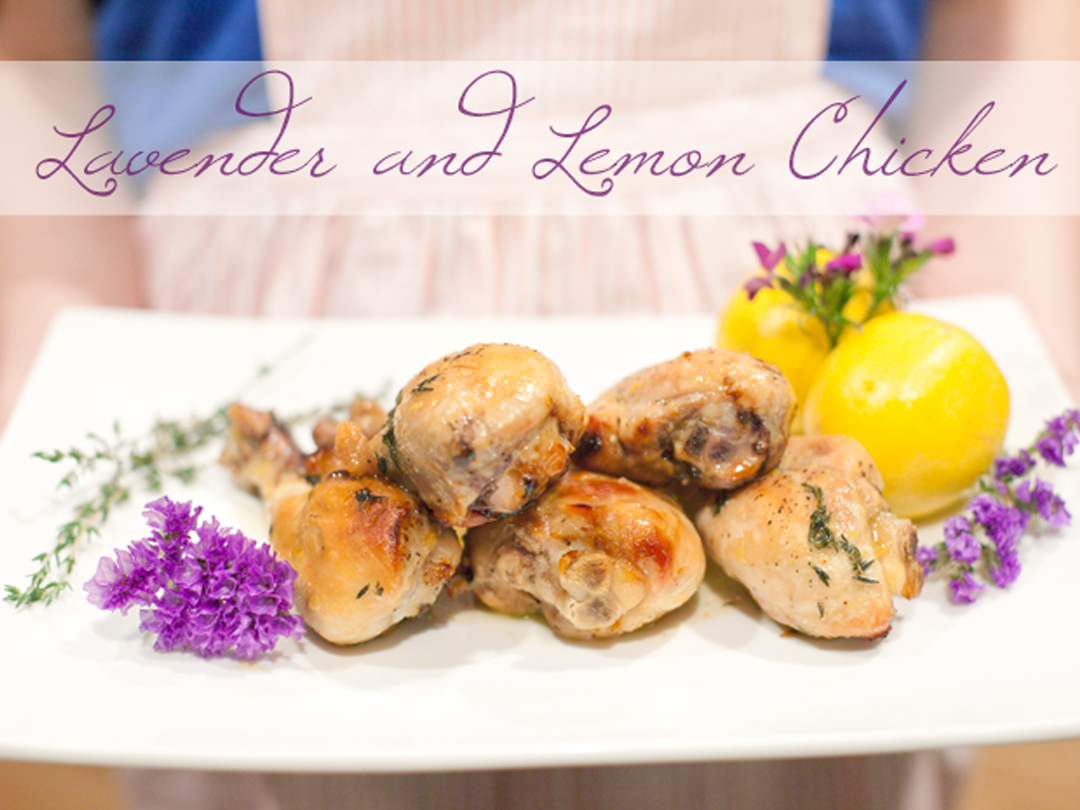 lavender and lemon chicken