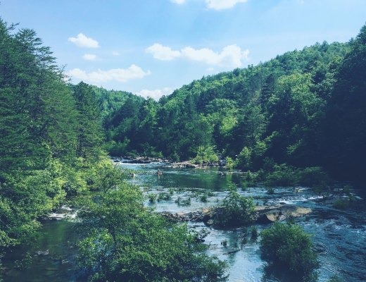 Blue Ridge GA, Ocoee River