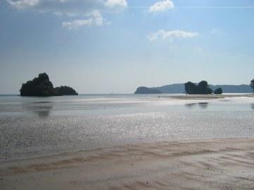 Odpływ w Krabi, północne południe :-)) Tajlandii.