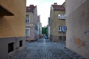 Najstarsza część, prosta logika układu ulic, nie ma co kombinować.