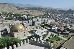 Odnowiona Twierdza Rabati w Achalciche. Twierdza to XII wiek, meczet i budynki pałacowe - XVI w.