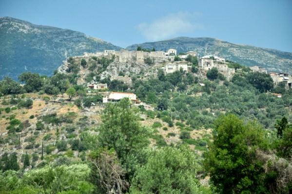 Stare miasto-twierdza w Himare.