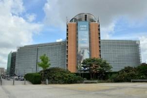 Le Barlaymont. Siedziba Komisji Europejskiej.