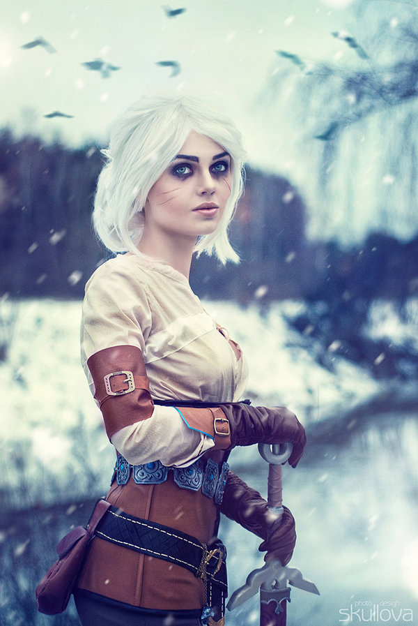 Saga Libros The Witcher Los Mejores Cosplays De Ciri (the Witcher 3)