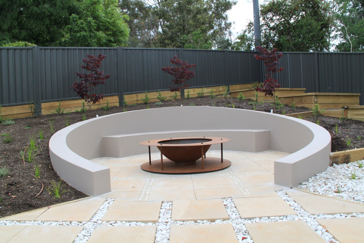 Fire Pit Big W Sunken Circular Seating Area With Fire Pit Janna