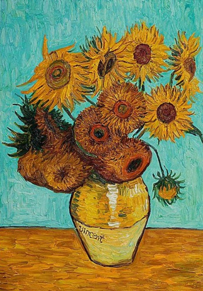 Vincent Van Gogh Paintings Sunflowers Inspired By Van Goghs Sunflowers Paint And Wine Night