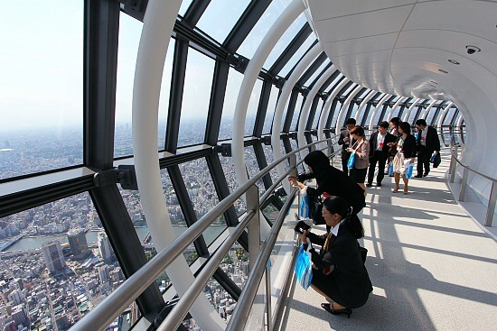 Glass Dome With Base Schauwecker's Japan Travel Blog: Sneak Peek From Tokyo Skytree